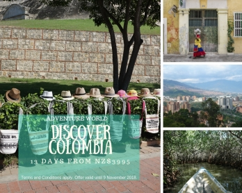 Discover Colombia AW