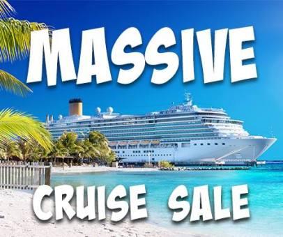 Massive Cruise Sale